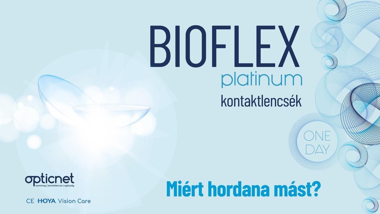 Bioflex Platinum kontaktlencsék